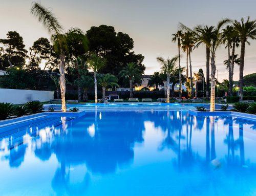 Constructora de piscinas de clubs deportivos y hoteles