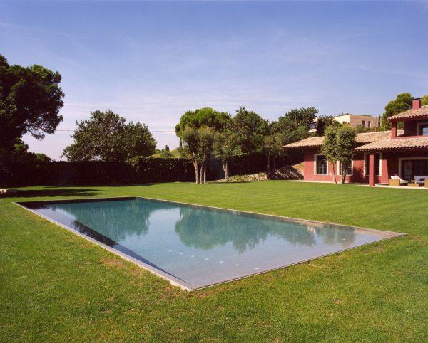 piscina privada alella