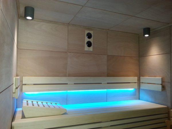 piscinas wellness lounge led tres