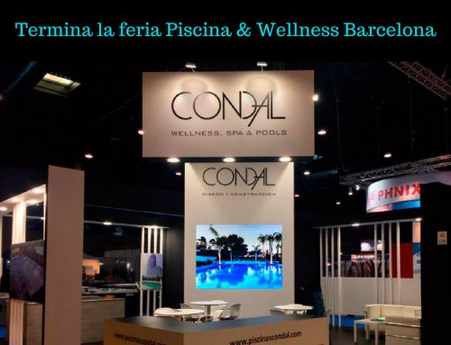 Mañana termina la feria Piscina & Wellness Barcelona