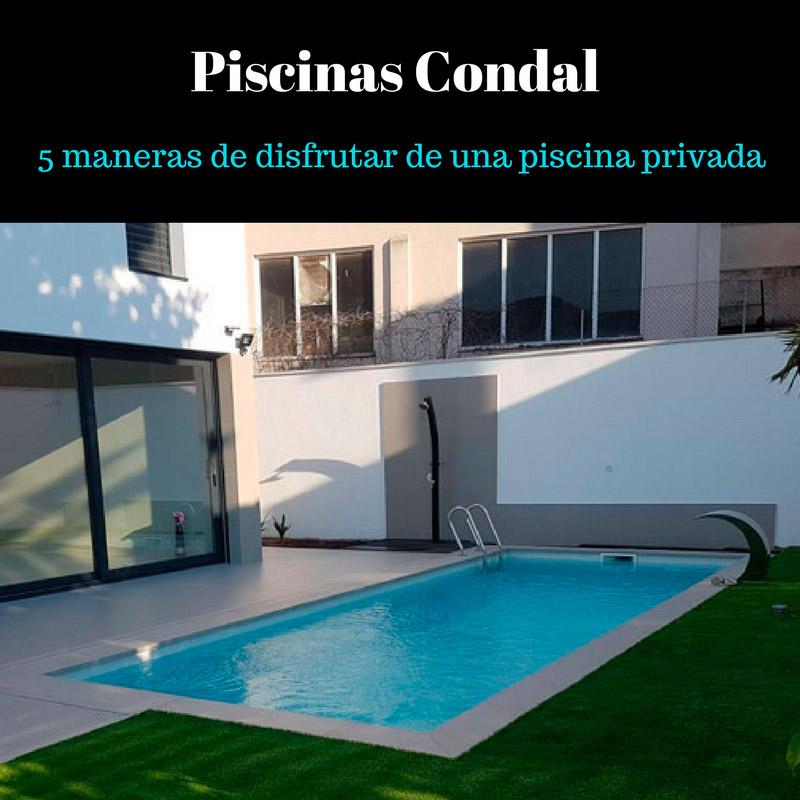 disfrutar de una piscina privada
