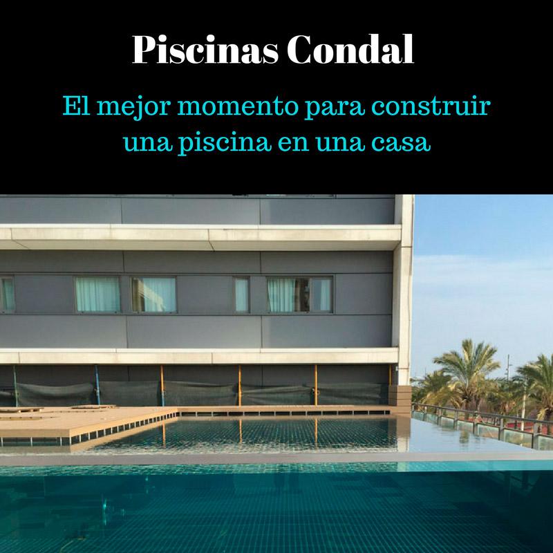 El mejor momento para construir una piscina en una casa for Construir una piscina en casa