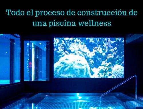 Todo el proceso de construcción de una piscina wellness