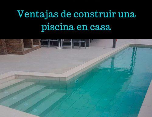 Ventajas de construir una piscina en casa