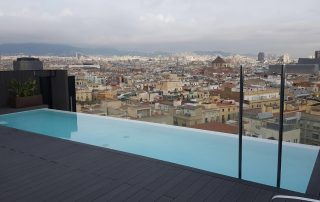 piscinas hotel barcelona