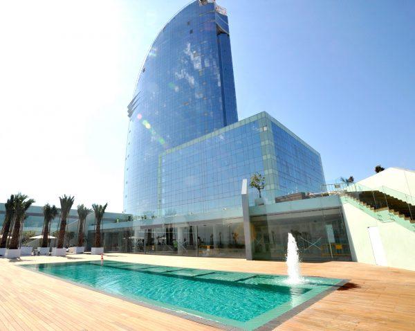 piscinas hoteles en barcelona