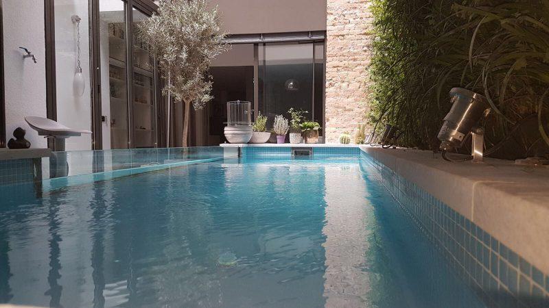 reparar una piscina