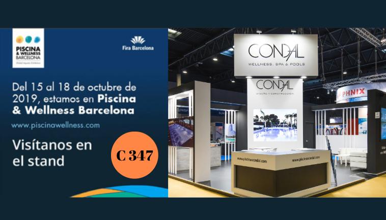 Piscinas Condal en la feria Piscina & Wellness Barcelona 2019