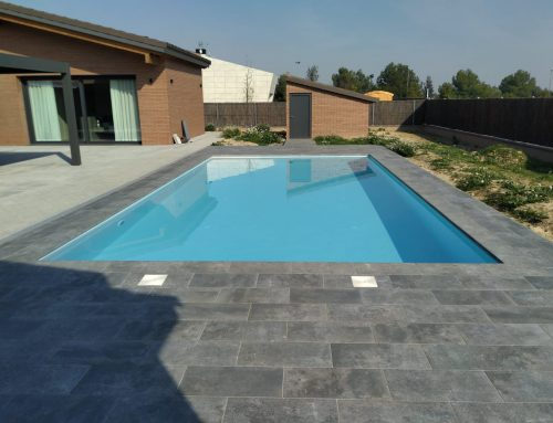 Construcción de piscina family en lleida